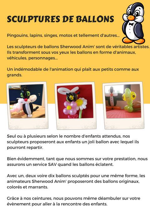Sculptures de ballons à Nantes (44)